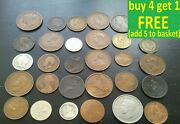British And World Coins Choice Pick Your Own Choose 6f