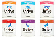 Pet Project Thrive Cat Treats 100 Real Meat Freeze Dried Maxi Tube Large Size