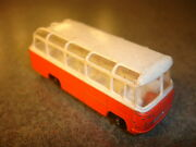 Old Vtg Antique Diecast Matchbox 68 Mercedes Coach Bus Toy Made In England