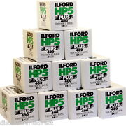 10 X Ilford Hp5 400 35mm 24exp Cheap Black And White Film By 1st Class Post