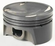 Mahle Forged Coated Skirt Sbc Inverted Dome, Ls1/2/6 Flat Top Piston And Ring Sets