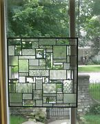 Allure Stained Glass Beveled Windows Panel