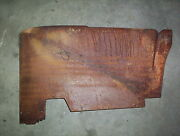 1956 Cadillac Deville 2 Door Hardtop Rear Seat Side Arm Rest Base Upholstery P