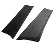 Chevrolet Chevy Running Board Mat / Cover Set Moulded Rubber No Steel 1937-1938