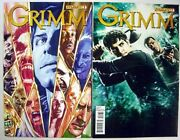 Grimm Nbc Tv Series Comic 1 First Printing Photo And Painted Cover Set Unread Nm