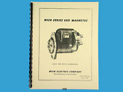 Wico Service And Parts Manual For Xhd Magneto For Case, Oliver, Wisconsin 448