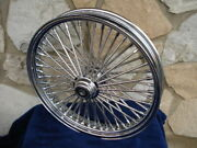 21x3.5 Dna Fat Mammoth 52 Spoke S/d Front Wheel For Harley Baggers 00-07