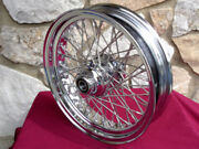 16x3.5 60 Spoke Dna Front Wheel 2007-up For Harley Heritage Fat Boy Deluxe