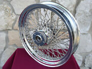 18x3.5 60 Spoke Front Wheel For Harley Road King All Touring 1984-99