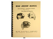 Wico Service And Parts Manual For Ap Magneto  440