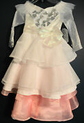 New Disney Store Glinda Oz Great And Powerful Deluxe Costume Dress Girls S 5/6