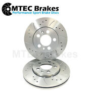 Mitsubishi Colt Czt 1.5 Turbo Mtec Performance Front Drilled Grooved Brake Discs