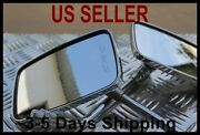 Large View Long Stem Mirrors - Hyosung St7 Deluxe Motorcycle Scooter Bike Moped