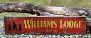 Personalized Lodge Or Cabin - Established - Rustic Hand Made Vintage Wood Sign