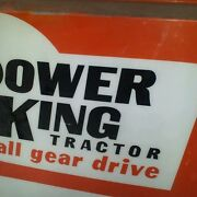 Power King Sign