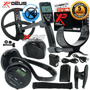 Xp Deus Metal Detector With Backphone Headphones Remote And 9andrdquo X35 Search Coil