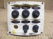 Hella Switch Panel 2 Position 5 Switches Boat Marine Multifunction