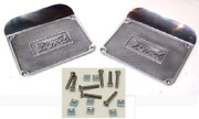Ford Model T Step Plates With Square Script Die Cast Aluminum W/ Ss Fasteners