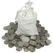 Gigantic Lot 5 Pound Lb Mixed Us Silver Coins 90 Percent Junk Silver Coins