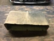 Vw Aircooled Beetle Original Paper Glove Box 65-68 Convertible Only