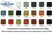 Smiths Paint Decorative Concrete Color Stains Classic Series 4oz Water Based