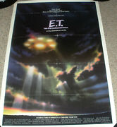 Et The Extraterestrial Original Advance Rare Spaceship Poster