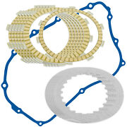 Clutch Friction Plates And Gasket Kit For Honda Cm400c Cm400e Cm400t 1979-1981