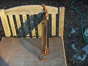 Antique Chatillon Hanging Scale Type-160 -100 Lb. Fish Market Barn Fresh Working
