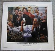 Kelly Freas Lithograph Signed A.p. Great Moments In Medicine Mad Magazine