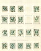 Sweden Specialized Ringtype Collection Used - 735 On Pages Scott 4930.00++