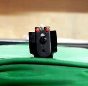 So Nice Crosman Rear Sight With Red Fiber Optic On Both Sides For 2240 1322 Etc