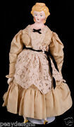 Antique Reproduction Victorian Parisian French Parian Type Woman Girl Doll