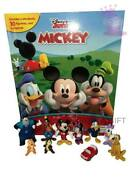 Mickey Mouse Clubhouse Cake Toppers 10 Plastic Figures Brand New Uk Stock
