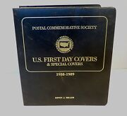 U.s First Day And Special Covers 1988-1989 Postal Commemorative Society