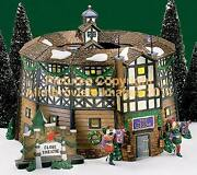 Dickens Village Dept 56 Old Globe Theater 58501 New Mint Fabulous