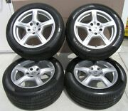 18 Porsche Panamera Oem Used Wheels Rims And Tire Package 2010-2013 With Tpms