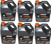 6450050 6pack Echo One Gallon Bottles 2 Cycle Engine Oil Mix Power Blend Sale