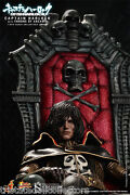 Space Pirate Captain Harlock And Throne Anime/manga_hot Toys 16 Scale Mms223_nrfb