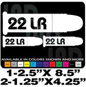 .22lr Decals Ammo Can Set Long Rifle Gun Decal Browning Henry Marlin Savage