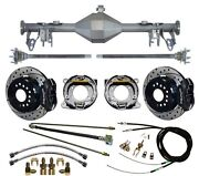 Currie 05-13 Mustang Rear End And Wilwood 12 Drilled Disc Brakes,lines,cable,axle