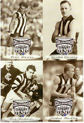 1997 Afl Collingwood Team Of The Century Collectable Photo Card Album Set 64