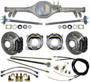 Currie 59-64 Impala Rear End And Wilwood Disc Brakeslinese-brake Cablesaxles++