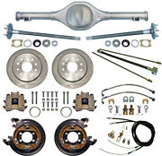 Currie Rear End And Disc Brakes Fits Jeep Mj Comanche,lines,cables,axles,86-92