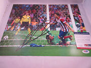 Koke Signed 11x14 Photo Psa/dna W78786 Atletico Madrid Spain Soccer World Cup