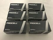 144 New Aaa Procell Alkaline Batteries By Duracell Pc2400 Exp 2026 Or Later