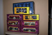 New In The Box Mth Dap Baltimore Ohio Freight Set With 5 Extra Cars