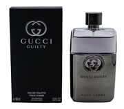 Guilty Pour Homme Cologne For Men Edt 3.0 Oz Brand New In Box