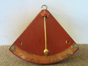 Maritime Salvaged Hand Made Boat Inclinemeter