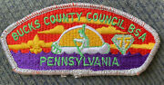 Mint Csp Bucks County Council Pa S-12 75th Anniversary 1985 Smy Bdr 45 Value
