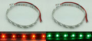 Red Green Led Navigational Bow Strip Light Waterproof Kayak Canoe Pontoon Boat